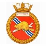 Badge for HMCS Ottawa
